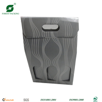 3 BOTTLE WINE CARDBOARD CARRIER FP72833