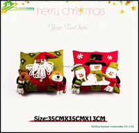 Christmas hold pillow cushion cover woven jacquard cushions plush sofa pillow case/pillow/Cushion cover TF32