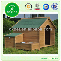 Wooden Dog House with Bowel (BV assessed supplier)
