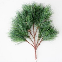 Q1110179 plastic artificial tree branches and leaves for sale artificial pine branches