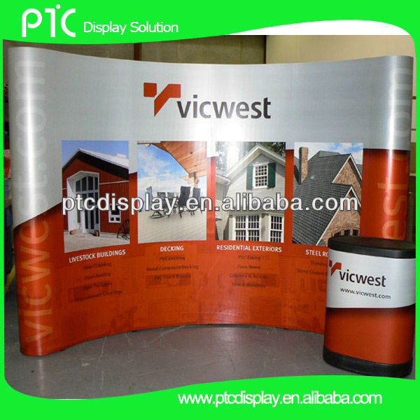 Spring exhibition booth background for exibition,pop up wall
