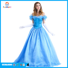 Pretty princess costume cinderella francy dress for sale