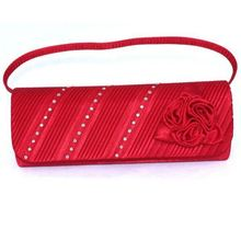 Japan design small red clutch bag manufacturer