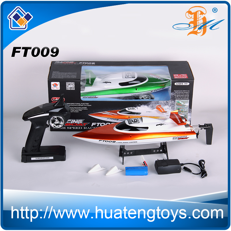 Feilun FT009 2.4Ghz remote control racing boat 30km/h top speed rc jet Boat for sale
