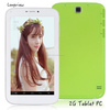 "7"" phablet Android A23 dual core 2G sim 7 inch pc tablet front and rear cameras wifi BT 512MB/4G"