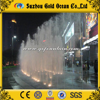 Land Fountain Decorative Plaza Manufacturer Water Spraying Fans