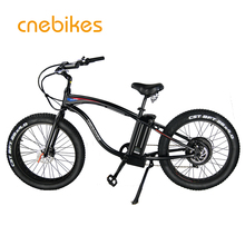 CE FR26C Approved 36v 350W Cheap Fat Tire Electric Bike / Full Suspension Electric Mountain Bike / Fat Bike Electric / Bycicle