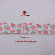 Strawberry Flavored Rolling Paper customized King Size slim, tobacco rolling papers