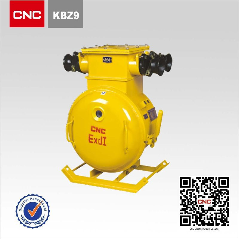 KBZ9-400(200)/1140(660) mining explosion proof explosion proof vacuum feeder switch - wantai electric