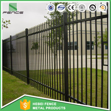 Wholesaler cheap Cheap prefab wrought iron fence panels, prefabricated used metal steel fence/ pool fence