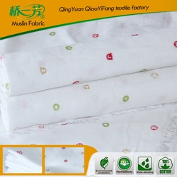 Baby using 100 cotton fabric for garment / bedding