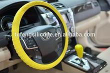 Factory price wholesale flexible anti-slip silicone steering wheel covers