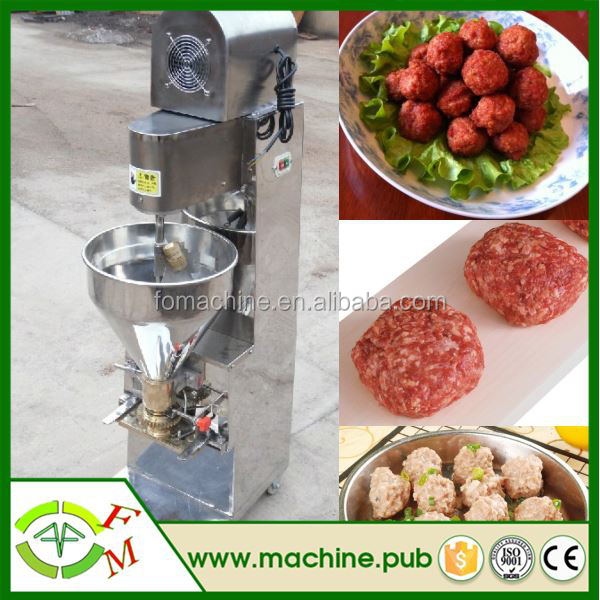 2015 china commercial electric Shrimp ball machine