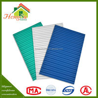 China supplier anti-corrosion color sheet corrugated pvc plastic tile roofing