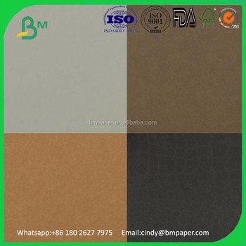 New Type Washable Reusable Brown Kraft Paper For Jeans Labels