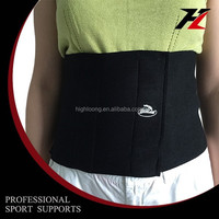 High quality neoprene neoprene waist slim belt for man