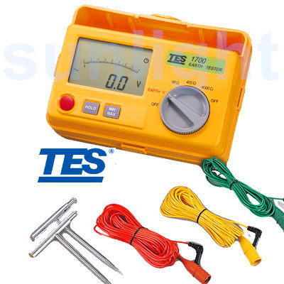 TES-1700 Digital Earth Resistance/Voltage Tester