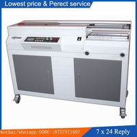 HL-50A Glue book binding machine for A4 size / Best price for Perfect binding machine / Hot melt glue book binder