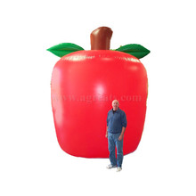 Giant inflatable apple helium balloons,durable helium balloon fruit helium balloon for commercial advertising used S3044