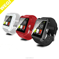 2016 wholesale Promotion bluetoth Smart Watch For Apple U8