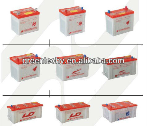 Professionally-Producing Lead Acid Dry Charged Car Battery for Starting