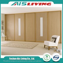 Modern furniture wooden sliding door wardrobe