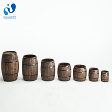 WanuoCraft High Quality Decoration Decorative Garden/ Beer Wooden Wine Barrel