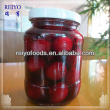 HALAL-- Canned black cherries