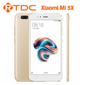 Original Xiaomi 5X mi5X 4G RAM 64G ROM double back camera Qualcomm Snapdragon 625 Octa Core 5.5inch 3080mah