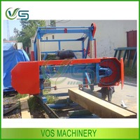 Widely used wood tool named gasoline engine driven band saw machine