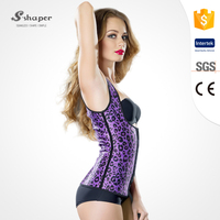 S-SHAPER OEM Service Latex Corset Waist Training Body Shaper Bustier