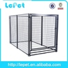 outdoor welded panel play pen -dog