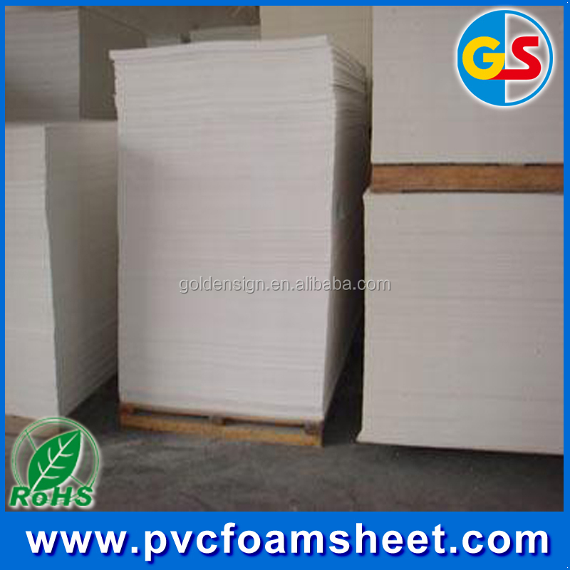 With Strong adhesive PVC Foam Board for photos album manufacture in China (Common size:1.22m*2.44m)