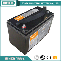 12v 100 amp hour deep cycle marine battery 110ah for good battery business