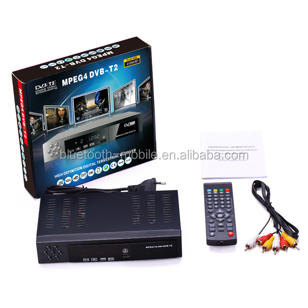 Vmade 8902 CE approved free to air HD DVB T2 terrestiral tv channel box support 7 days epg