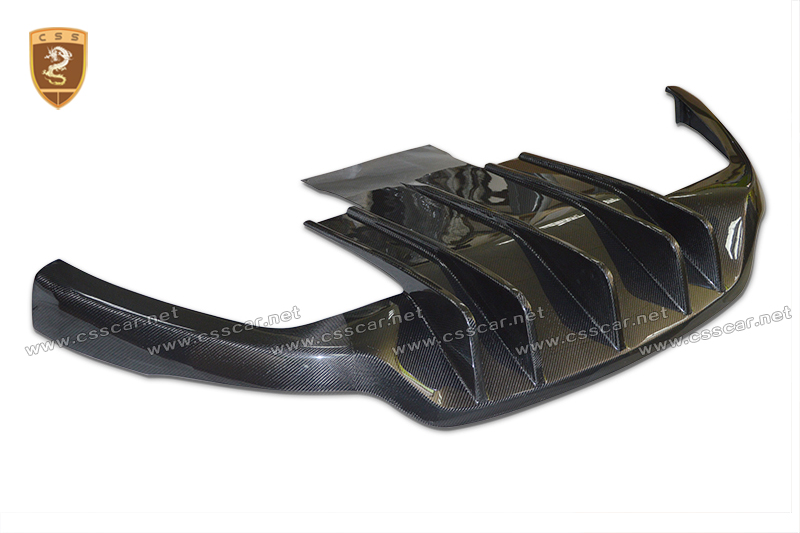 Carbon fiber rear lip for Maserati GT high quality
