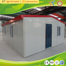 EPS sandwich panel prefabricated mobile house/prefab house/mobile home made video
