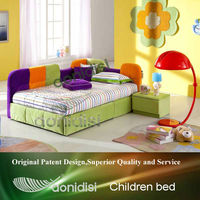 Colourful pictures kids beds single size EEAE012