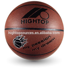 customer design official weight and size laminated basketball for training and matach