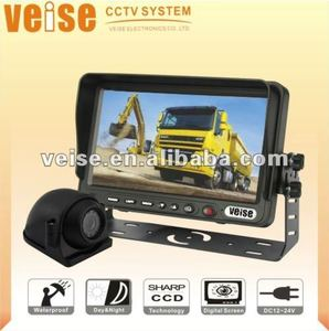 heavy duty reversing camera system with TFT LCD Monitor