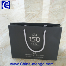 Recycle packaging bag with your own logo custom printed gift bag with handles