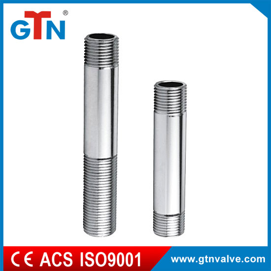 Manufacturer plumbing M/M extension dn20 thread fitting with chrome plated