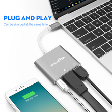 OEM ODM wholesale usb 3.0 Type C to HDMI+USB-C Converter Adapter USB C Hub for MacBook