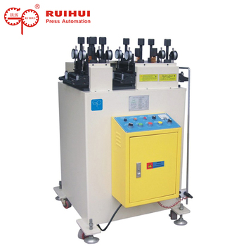 Chinese profile metal flattener leveling cradle with straightening machine