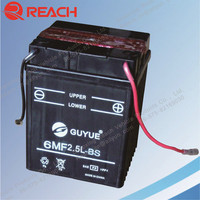 High Quality Standard 12V 2.5AH Lead Acid Battery for Motorcycle and LED Light