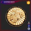 custom gold coin