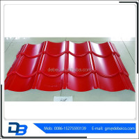 My text 828 Prepainted corrugated steel roofing tiles price