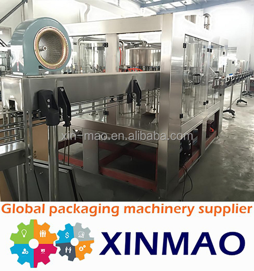 Complete line full-auto mineral water bottling line /turn key water bottling system with pallet
