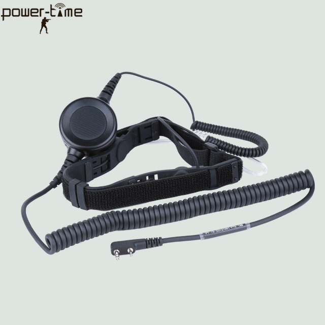 airsoft full face masks headset throat microphone