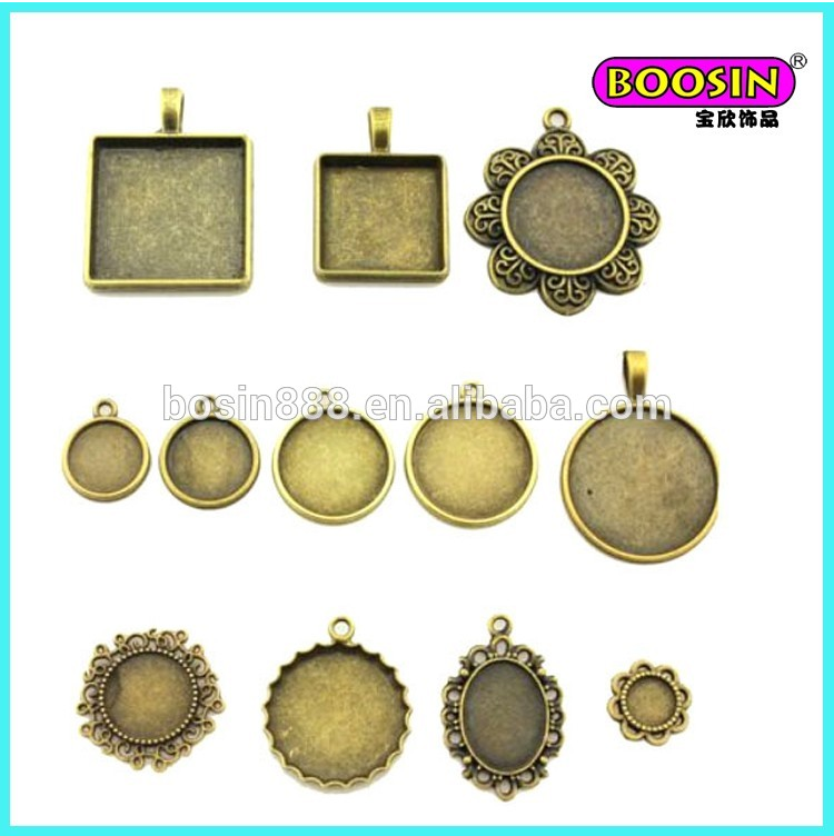 Top Seller Excellent Stylish Cheap Prices Sales Jewelry photo pendants square